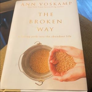 "Hardback book""The Broken Way"" by Ann Voskamp"